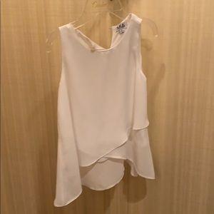 White girls blouse